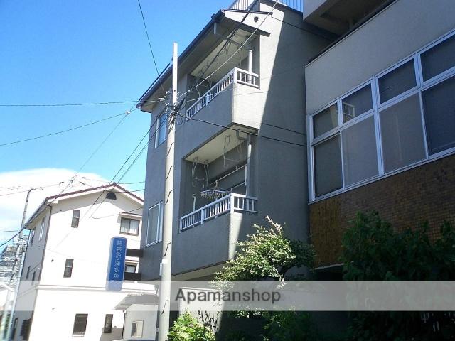 広島県広島市南区、県病院前駅徒歩7分の築41年 3階建の賃貸マンション