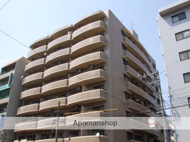 広島県広島市中区、比治山下駅徒歩10分の築30年 8階建の賃貸マンション