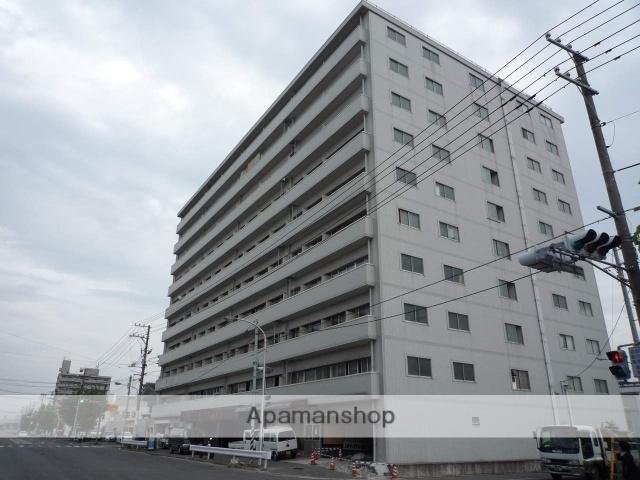 広島県広島市南区、元宇品口駅徒歩12分の築42年 11階建の賃貸マンション