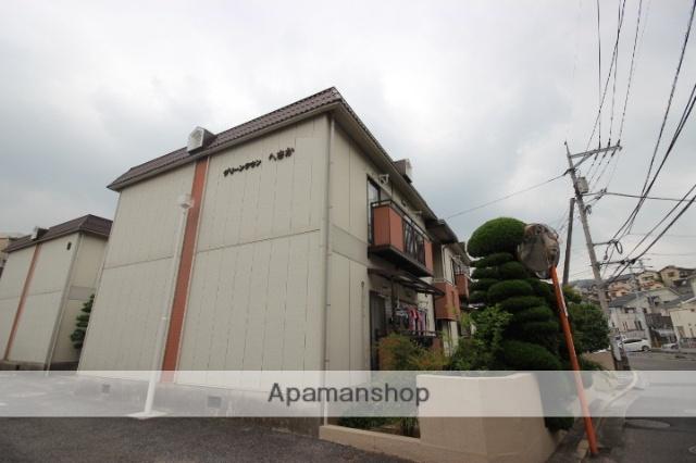 広島県広島市東区、戸坂駅徒歩20分の築31年 2階建の賃貸アパート
