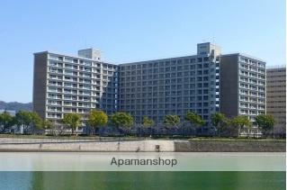 広島県広島市中区、新白島駅徒歩5分の築43年 13階建の賃貸マンション