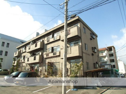 広島県広島市西区、舟入川口町駅徒歩15分の築31年 3階建の賃貸マンション