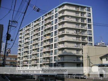 広島県広島市西区、西広島駅徒歩2分の築42年 11階建の賃貸マンション