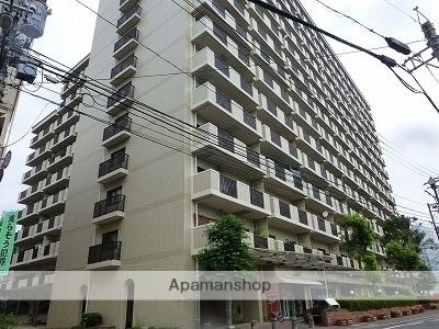 広島県広島市西区、西広島駅徒歩4分の築28年 14階建の賃貸マンション