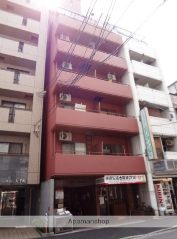 広島県広島市中区、市役所前駅徒歩5分の築31年 10階建の賃貸マンション
