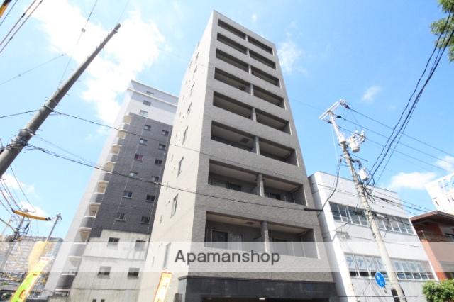 広島県広島市中区、鷹野橋駅徒歩10分の築10年 9階建の賃貸マンション