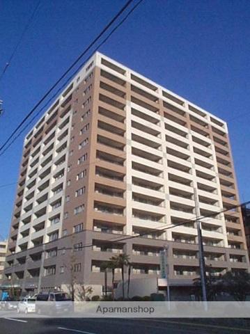 広島県広島市中区、縮景園前駅徒歩3分の築13年 15階建の賃貸マンション