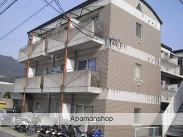 広島県広島市安佐南区、下祇園駅徒歩10分の築27年 3階建の賃貸マンション