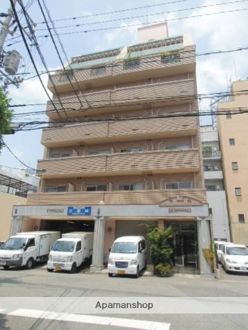 広島県広島市南区、広島駅徒歩6分の築25年 7階建の賃貸マンション