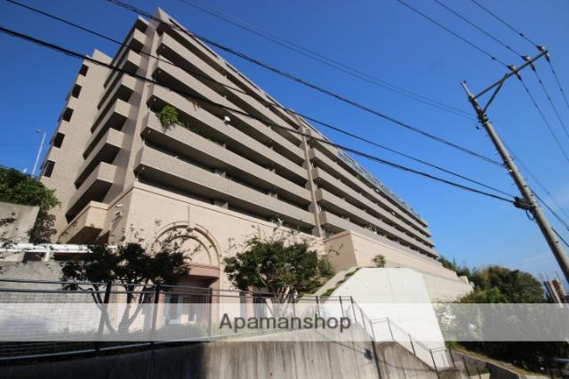 広島県広島市西区、東高須駅徒歩20分の築21年 8階建の賃貸マンション