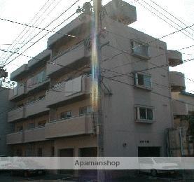 広島県広島市南区、元宇品口駅徒歩6分の築26年 4階建の賃貸マンション