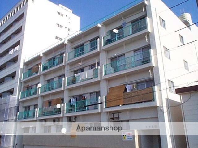 広島県広島市中区、日赤病院前駅徒歩7分の築43年 5階建の賃貸マンション