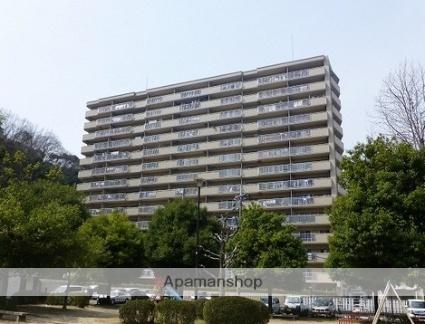 広島県広島市安佐南区、安東駅徒歩10分の築27年 14階建の賃貸マンション