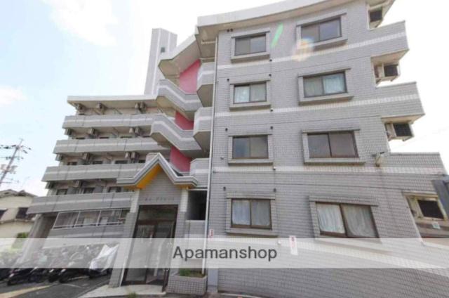 広島県広島市安佐南区、上安駅徒歩16分の築26年 5階建の賃貸マンション