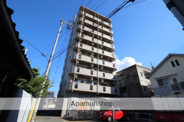 広島県広島市安佐南区、下祇園駅徒歩5分の築20年 9階建の賃貸マンション