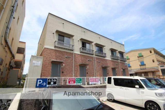 広島県広島市安佐南区、大塚駅徒歩17分の築5年 2階建の賃貸アパート