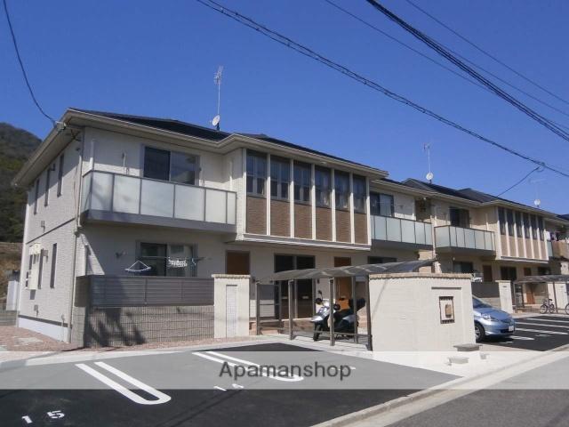 広島県広島市安佐南区、上八木駅徒歩5分の築3年 2階建の賃貸アパート