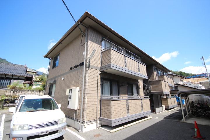 広島県広島市安佐南区、安東駅徒歩20分の築13年 2階建の賃貸アパート