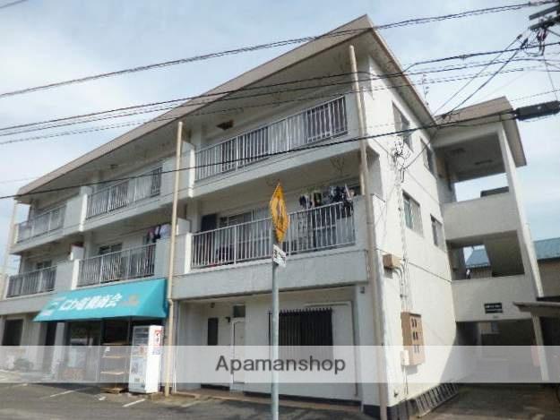 広島県広島市安佐南区、七軒茶屋駅徒歩18分の築36年 3階建の賃貸マンション