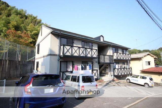 広島県広島市安佐南区、下祇園駅徒歩18分の築21年 2階建の賃貸アパート