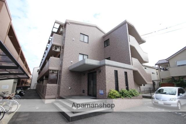 広島県広島市安佐南区、西原駅徒歩12分の築17年 3階建の賃貸マンション