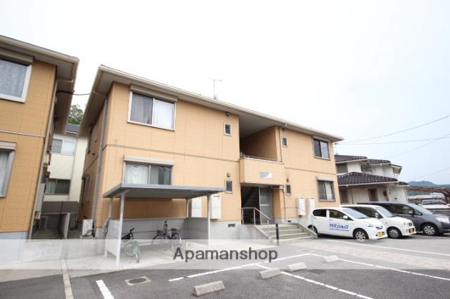 広島県広島市安佐南区、伴駅徒歩17分の築12年 2階建の賃貸アパート