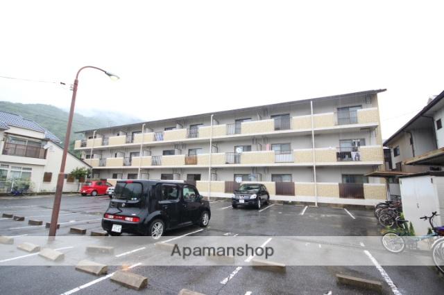 広島県広島市安佐南区、七軒茶屋駅徒歩11分の築23年 3階建の賃貸マンション