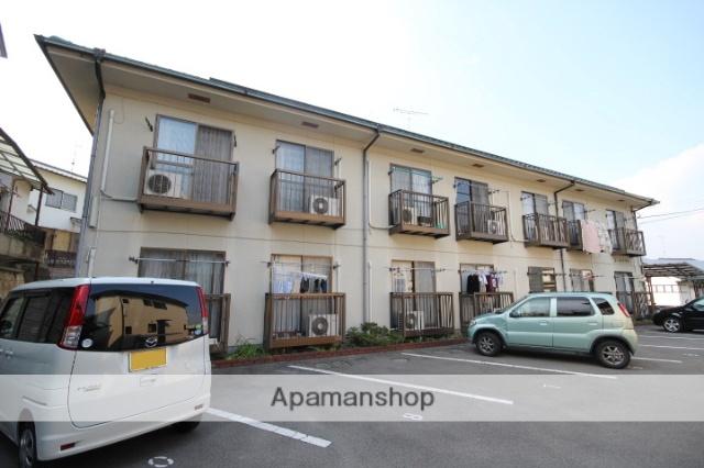 広島県広島市安佐南区、伴駅徒歩11分の築22年 2階建の賃貸アパート
