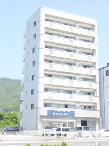 広島県広島市安佐南区、七軒茶屋駅徒歩13分の築8年 8階建の賃貸マンション