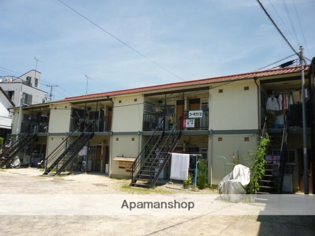広島県広島市安佐南区、古市橋駅徒歩5分の築44年 2階建の賃貸アパート