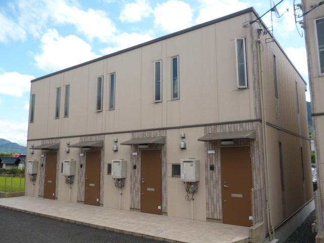 広島県広島市安佐南区、伴駅徒歩10分の築8年 2階建の賃貸テラスハウス