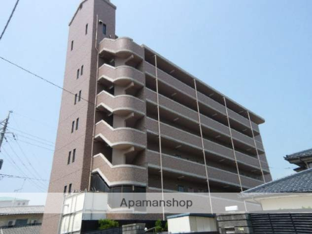 広島県広島市安佐南区、安芸長束駅徒歩13分の築20年 6階建の賃貸マンション