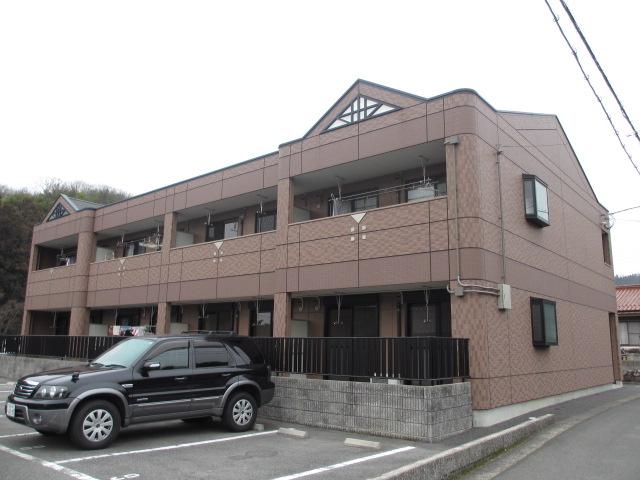 広島県広島市安佐南区、伴駅徒歩14分の築12年 2階建の賃貸アパート
