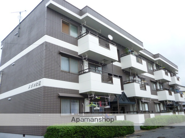 広島県広島市安佐南区、大町駅徒歩18分の築21年 3階建の賃貸マンション