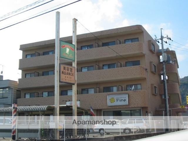 広島県広島市安佐南区、緑井駅徒歩19分の築19年 4階建の賃貸マンション