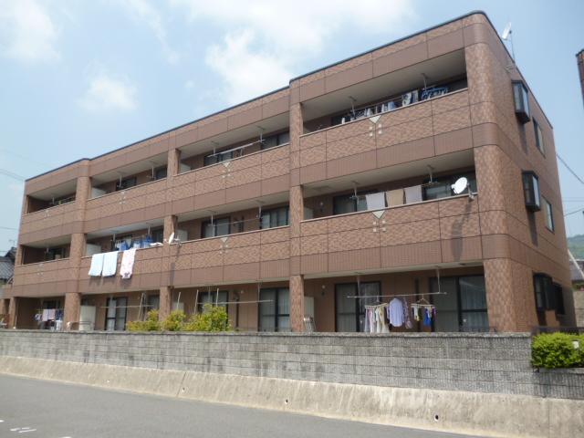 広島県広島市安佐南区、上安駅徒歩6分の築11年 3階建の賃貸マンション