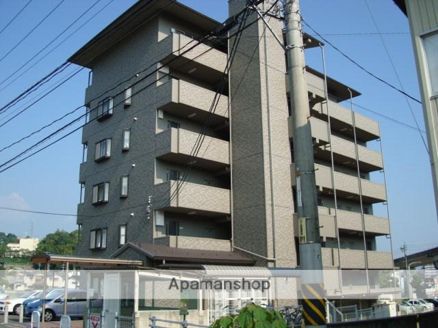 広島県広島市安佐南区、毘沙門台駅徒歩15分の築19年 6階建の賃貸マンション
