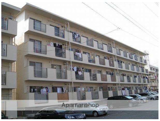 広島県広島市安佐南区、梅林駅徒歩19分の築41年 4階建の賃貸マンション