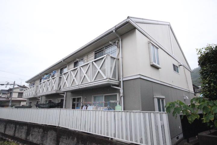 広島県広島市安佐南区、梅林駅徒歩6分の築22年 2階建の賃貸アパート