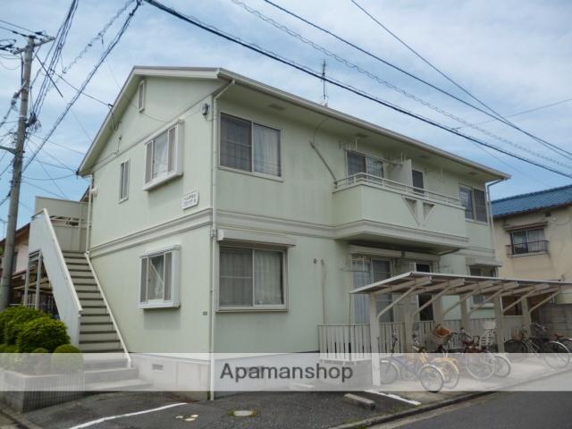 広島県広島市安佐南区、大町駅徒歩17分の築23年 2階建の賃貸アパート