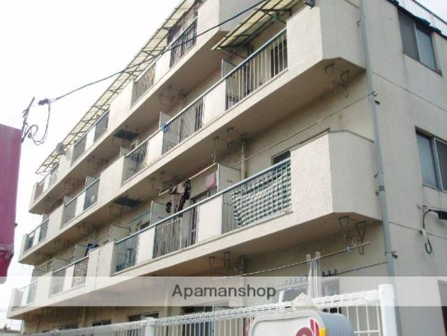 広島県広島市安佐南区、梅林駅徒歩9分の築31年 4階建の賃貸マンション