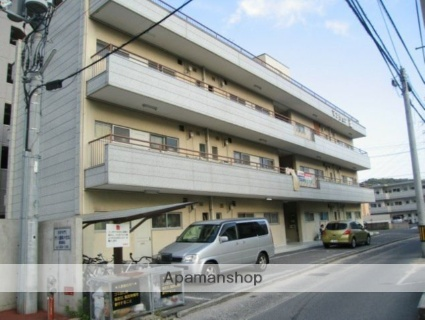 広島県広島市安佐南区、下祇園駅徒歩11分の築43年 3階建の賃貸マンション