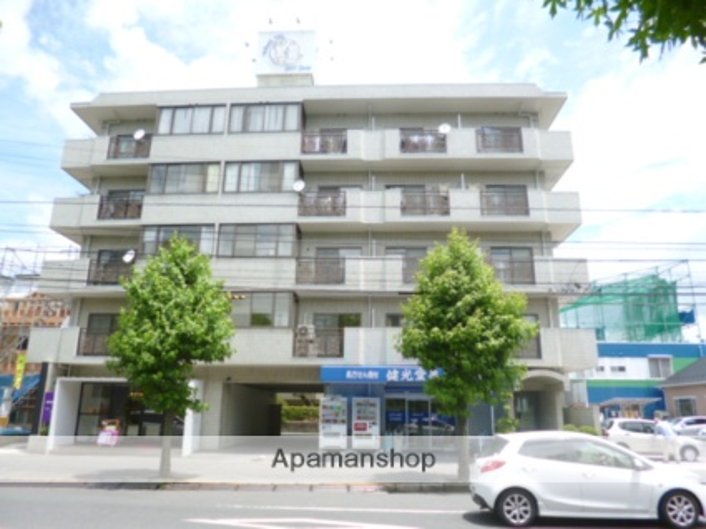 広島県広島市安佐南区、大町駅徒歩10分の築31年 5階建の賃貸マンション