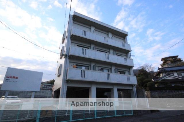 広島県広島市安佐南区、高取駅徒歩2分の築16年 4階建の賃貸マンション