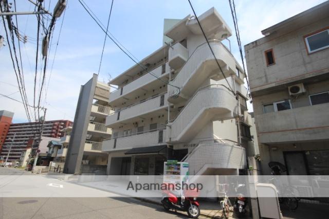 広島県広島市西区、西広島駅徒歩10分の築26年 4階建の賃貸マンション