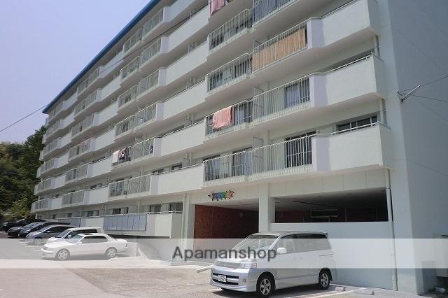 広島県広島市西区、西広島駅徒歩14分の築44年 7階建の賃貸マンション