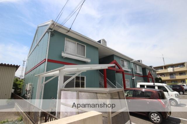 広島県広島市佐伯区の築28年 2階建の賃貸アパート