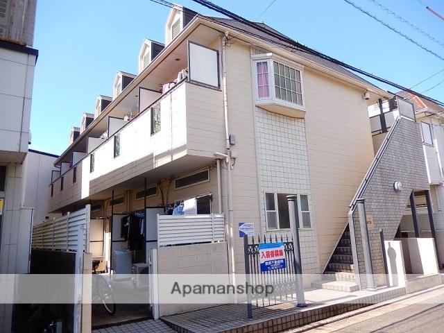 広島県廿日市市、廿日市駅徒歩14分の築26年 2階建の賃貸アパート
