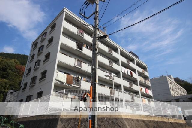 広島県広島市西区、新井口駅徒歩27分の築28年 5階建の賃貸マンション