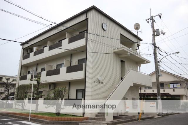 広島県広島市西区、新井口駅徒歩10分の築31年 3階建の賃貸マンション
